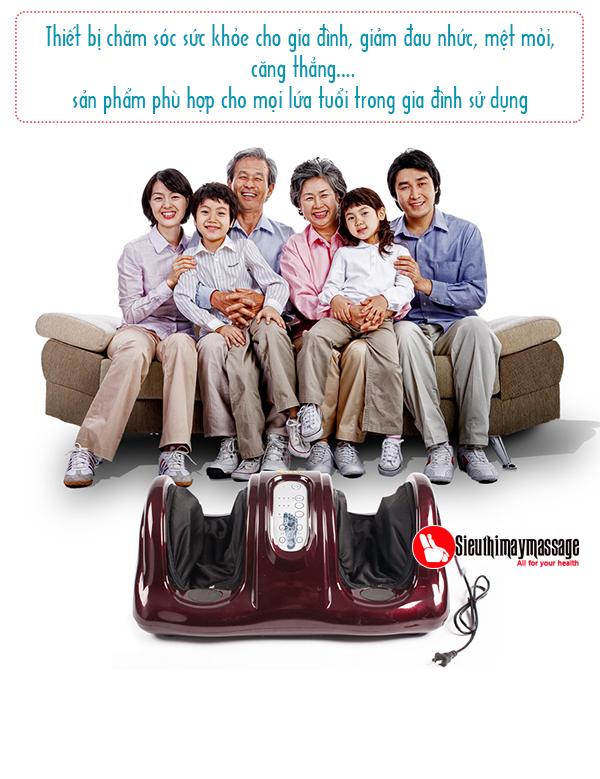 May massage chan co ngan Shika 8910 cao cap tai TPHCM