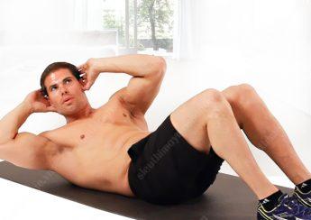 bai tap co bung 345x244 - Những bài tập thể dục cơ bụng cho nam giới