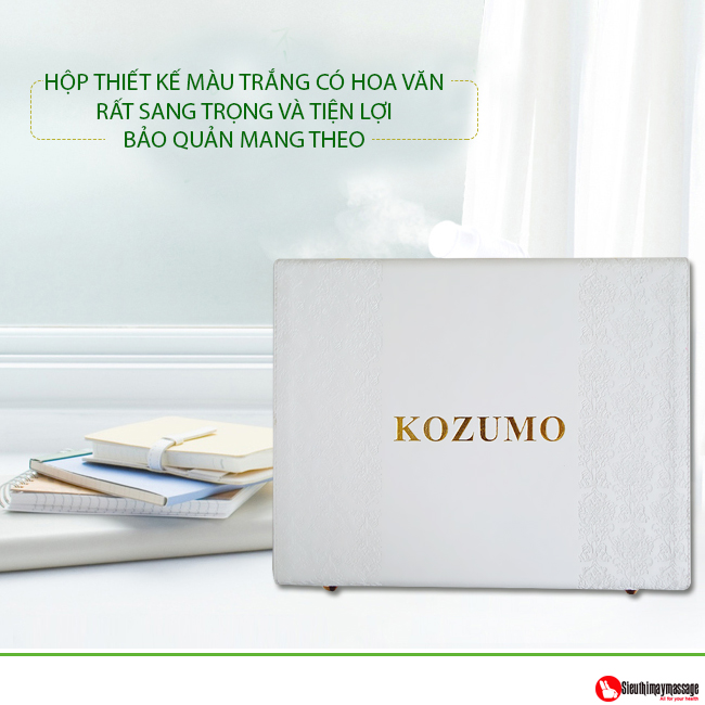 may cuu ngai kozumo 2017 6 - Máy cứu ngải Kozumo 2017