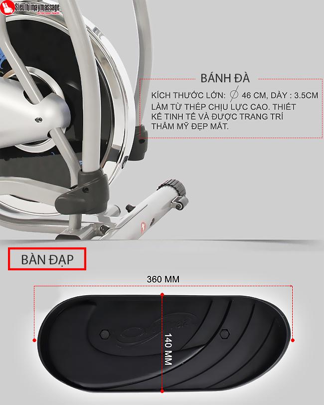 may tap tong hop new Orbitrack 5 - Máy tập xe đạp tổng hợp New Orbitrack