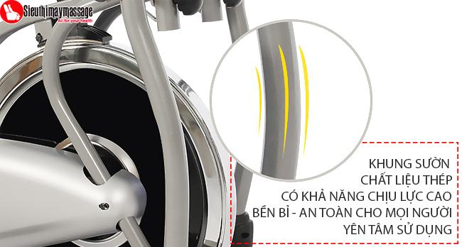 may tap tong hop new Orbitrack 6 - Máy tập xe đạp tổng hợp New Orbitrack