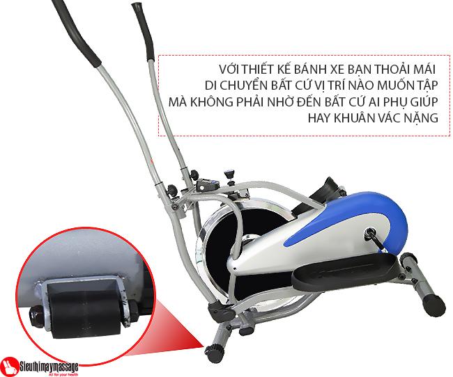 may tap tong hop new Orbitrack 7 - Máy tập xe đạp tổng hợp New Orbitrack