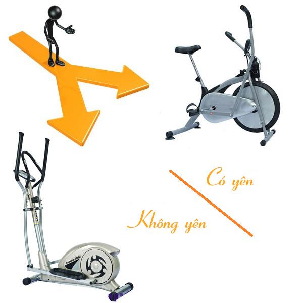 so sanh xe dap tap co yen hay khong co yen - So sánh dòng xe đạp tập có yên và không có yên