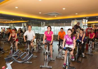 xe dap tap phong gym 345x244 - Tư vấn lựa chọn xe đạp tập thể dục cho phòng Gym