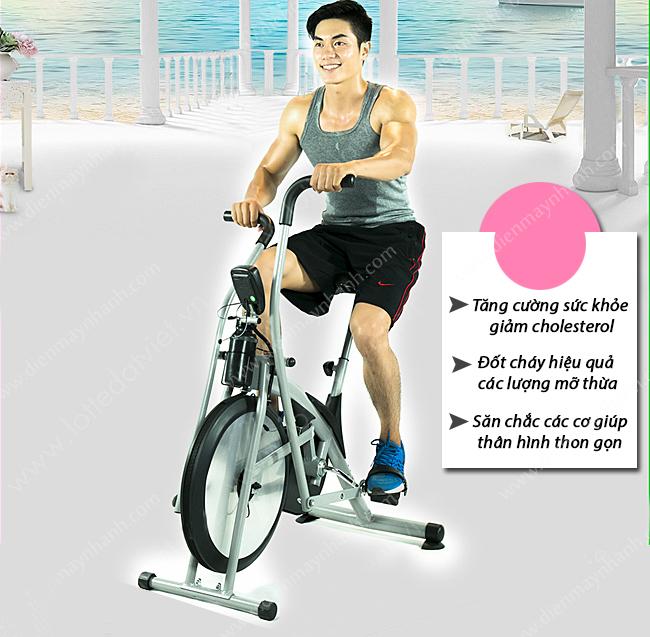 vi sao xe dap the duc ngay cang duoc ua chuong 4 - Vì sao xe đạp tập thể dục lại ngày càng được ưa chuộng?