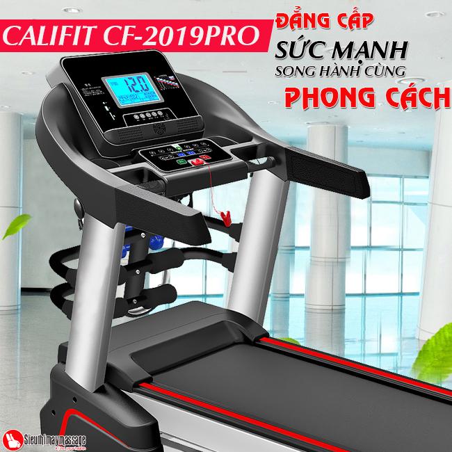may chay bo califit cf 2019 pro 4 - Máy chạy bộ đa năng Califit CF-2019PRO 4.5HP