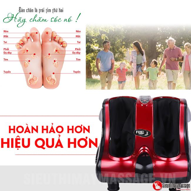 may massage chan fuki fk 6890 07 - Máy massage chân Fuki Nhật Bản FK-6890
