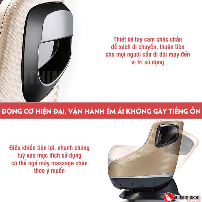 may massage chan va bap chan Fuki 3 D Foot massager FK 900 5 - Máy mát xa chân và bắp chân Fuki 3D Foot massager FK-900