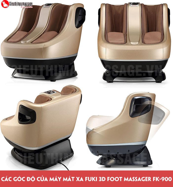 may massage chan va bap chan Fuki 3 D Foot massager FK 900 9 - Máy mát xa chân và bắp chân Fuki 3D Foot massager FK-900