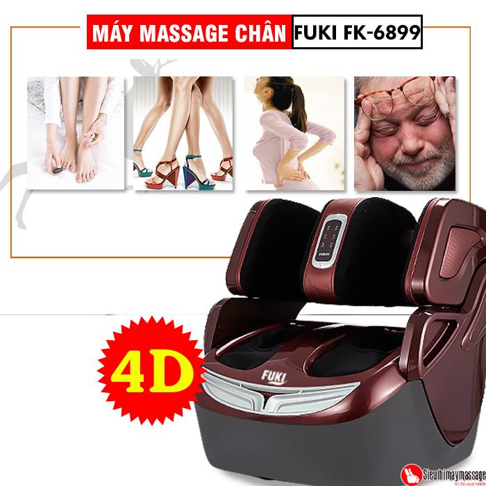 may massage chan 4 d Fuki FK 6899 2 - Máy massage chân 4D Fuki FK-6899 (Dòng cao cấp)