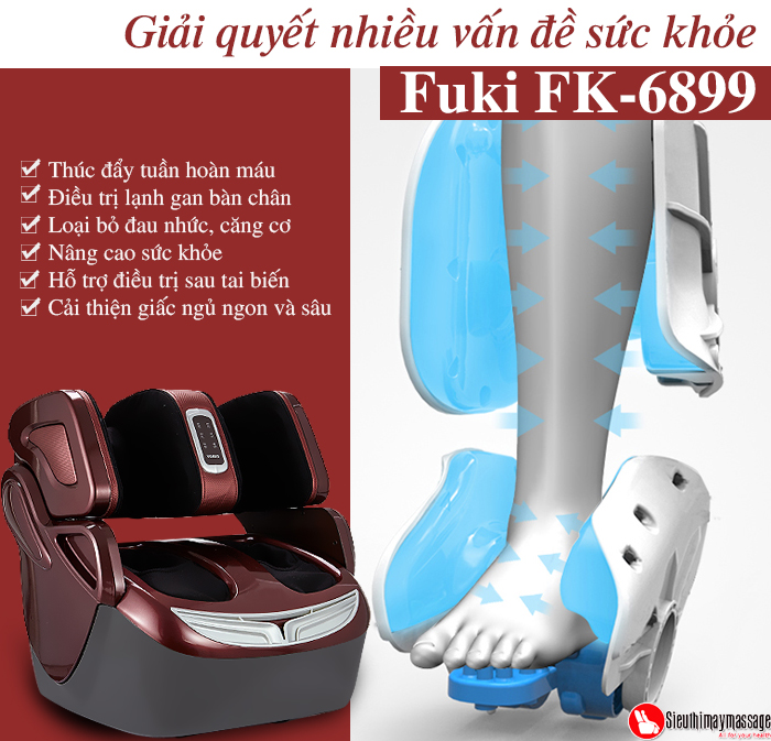 may massage chan 4 d Fuki FK 6899 4 - Máy massage chân 4D Fuki FK-6899 (Dòng cao cấp)