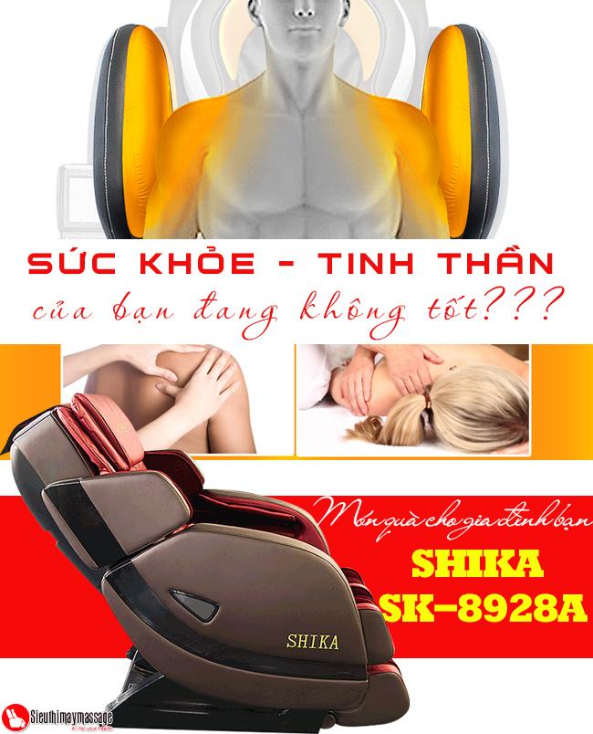 ghe massage 3d shika sk 8928 a 2 - Ghế massage toàn thân 3D Shika SK-8928A