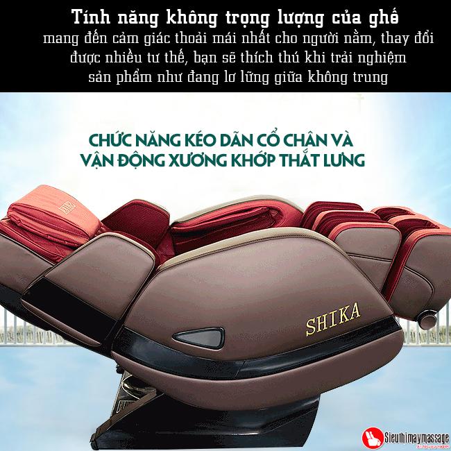 ghe massage 3d shika sk 8928 a 5 - Ghế massage toàn thân 3D Shika SK-8928A