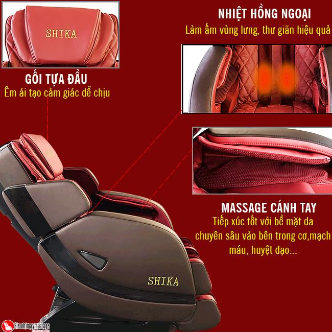 ghe massage 3d shika sk 8928 a 8 - Ghế massage toàn thân 3D Shika SK-8928A