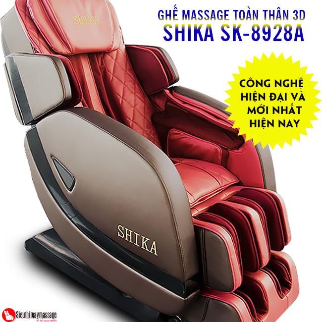 ghe massage 3d shika sk 8928 a 9 - Ghế massage toàn thân 3D Shika SK-8928A