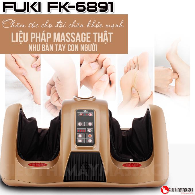 may massage chan fuki nhat ban fk 6891 vang gold 10 - Máy Massage Chân Nhật Bản Fuki FK-6891 (Vàng Gold)