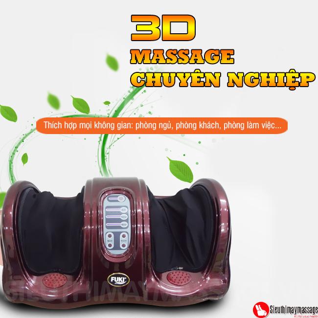 may massage chan hong ngoai Fuki FK 6811 10 - Máy massage chân hồng ngoại Fuki Nhật Bản FK-6811