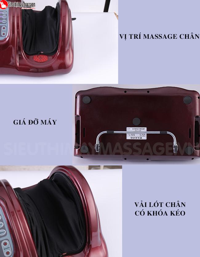 may massage chan hong ngoai Fuki FK 6811 3 - Máy massage chân hồng ngoại Fuki Nhật Bản FK-6811