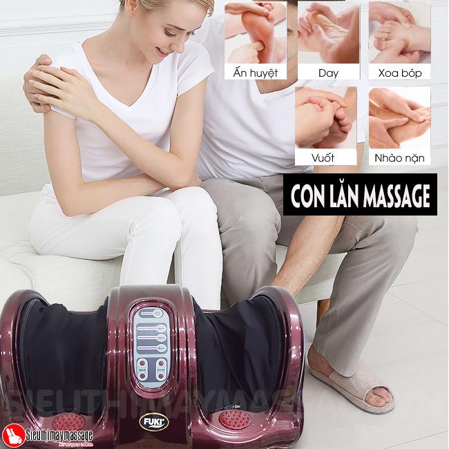 may massage chan hong ngoai Fuki FK 6811 8 - Máy massage chân hồng ngoại Fuki Nhật Bản FK-6811