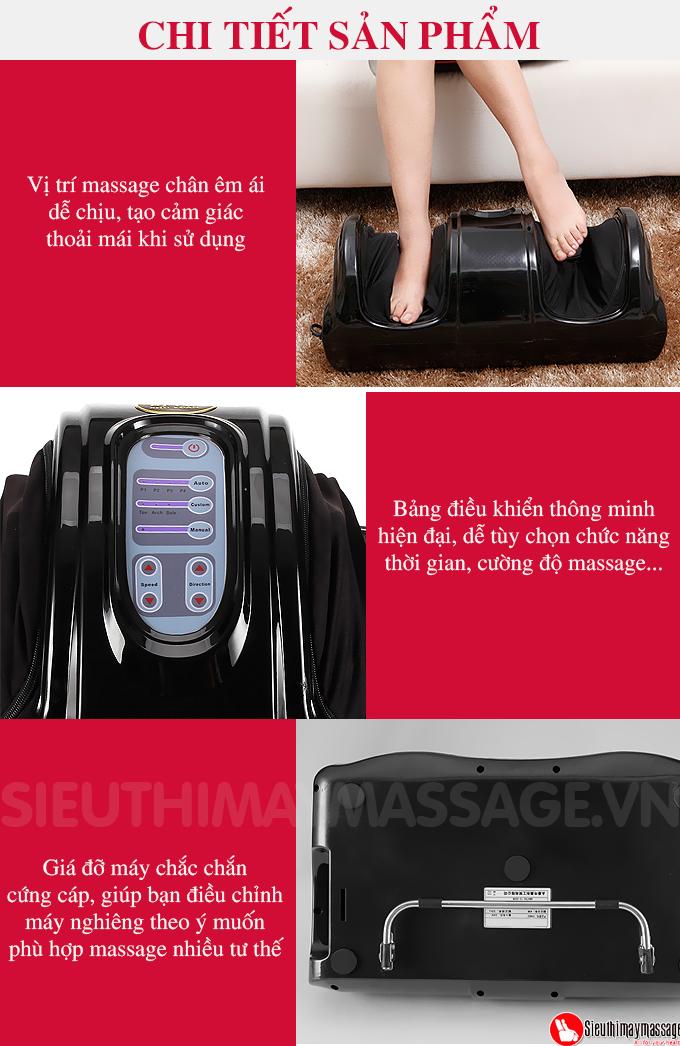 may massage chan hong ngoai Fuki FK 6811 mau den 4 - Máy massage chân hồng ngoại Fuki Nhật Bản FK-6811(màu đen)