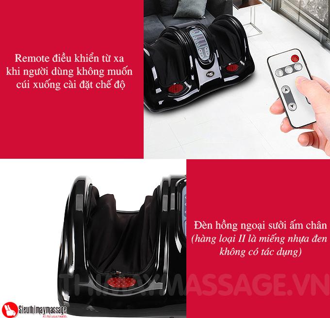 may massage chan hong ngoai Fuki FK 6811 mau den 5 - Máy massage chân hồng ngoại Fuki Nhật Bản FK-6811(màu đen)