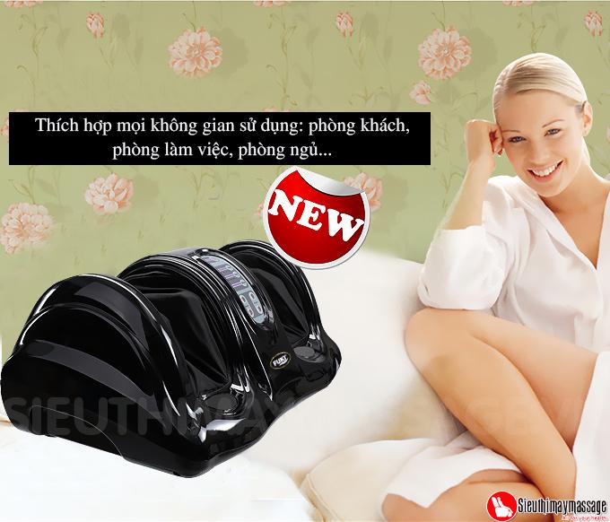 may massage chan hong ngoai Fuki FK 6811 mau den 8 - Máy massage chân hồng ngoại Fuki Nhật Bản FK-6811(màu đen)