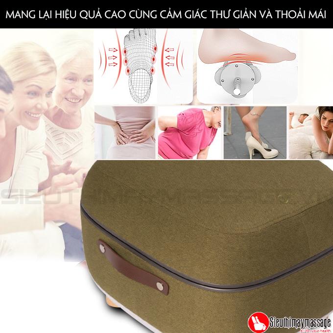 may massage chan OTO QS 88 mau xanh 5 - Máy massage chân QSeat OTO QS-88 (màu xanh)