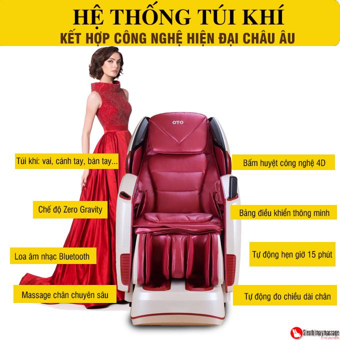 ghe massage toan than oto pe 09 3 - Ghế massage toàn thân OTO Prestige PE-09 (dòng cao cấp)