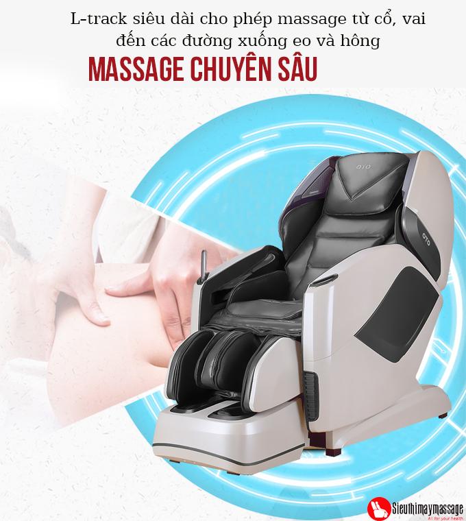 ghe massage toan than oto pe 09 xam 10 - Ghế massage toàn thân OTO Prestige PE-09 (màu xám)