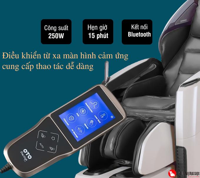 ghe massage toan than oto pe 09 xam 16 - Ghế massage toàn thân OTO Prestige PE-09 (màu xám)