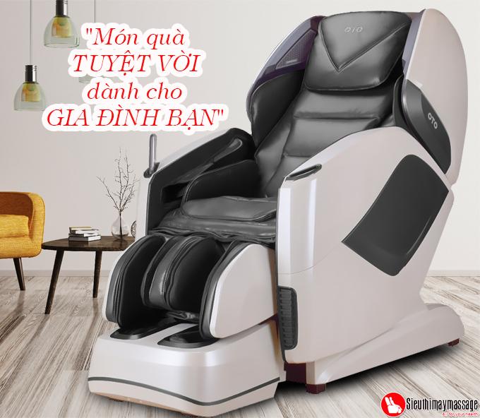 ghe massage toan than oto pe 09 xam 2 - Ghế massage toàn thân OTO Prestige PE-09 (màu xám)