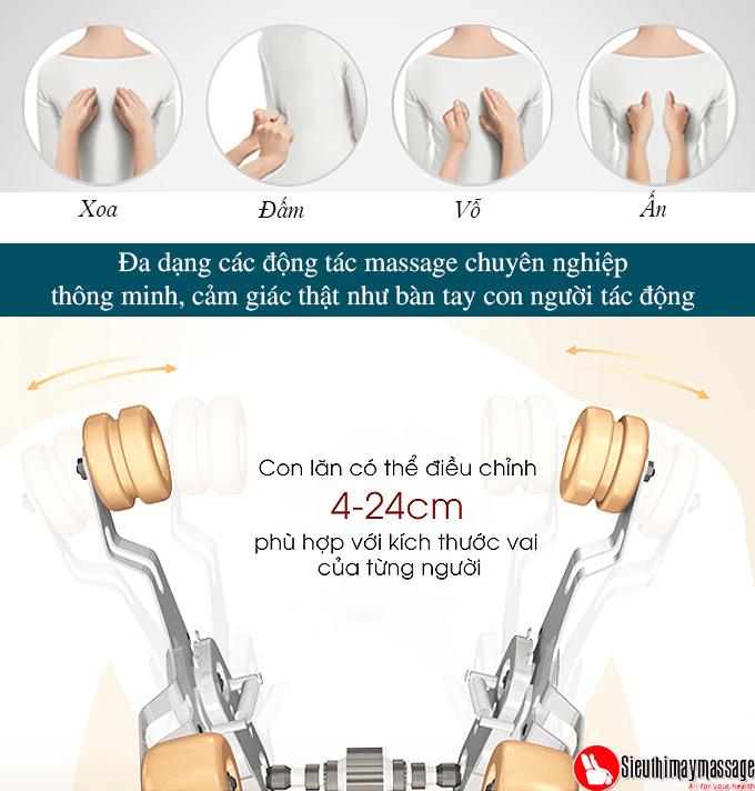 ghe massage toan than oto pe 09 xam 7 - Ghế massage toàn thân OTO Prestige PE-09 (màu xám)