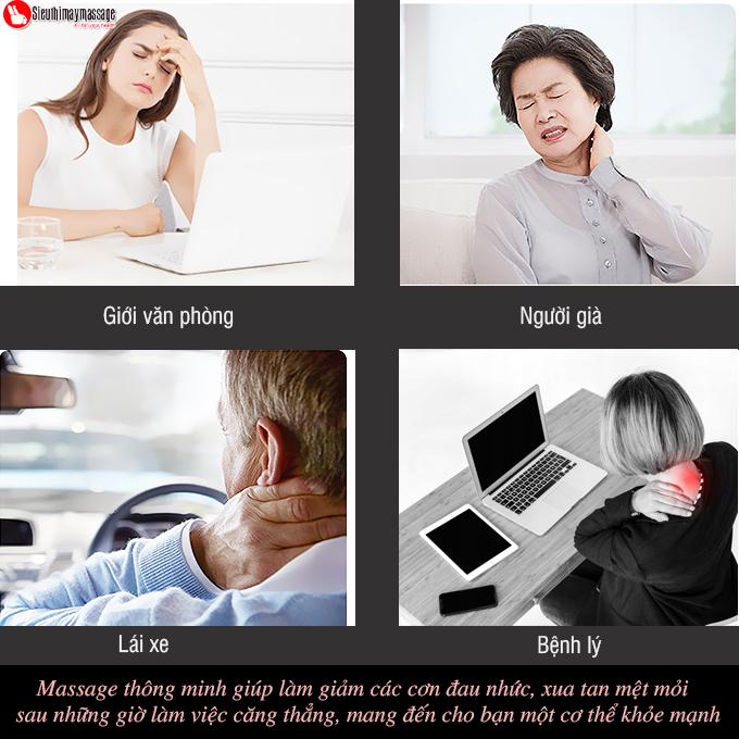 may massage co vai gay lung OTO Neck Spa 4 - Máy massage cổ OTO Neck Spa NA-99 (màu đen)