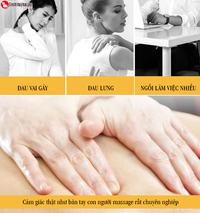 may massage co vai gay lung OTO Neck Spa white 2 - Máy massage cổ OTO Neck Spa NA-99 (màu trắng)
