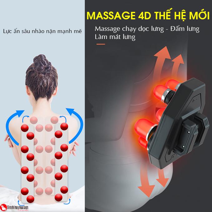 dem massage tai nha va oto fuki Luxury FK A 99 7 - Đệm Massage Tại Nhà Và Xe Ô TÔ Fuki 4D Luxury FK-A99