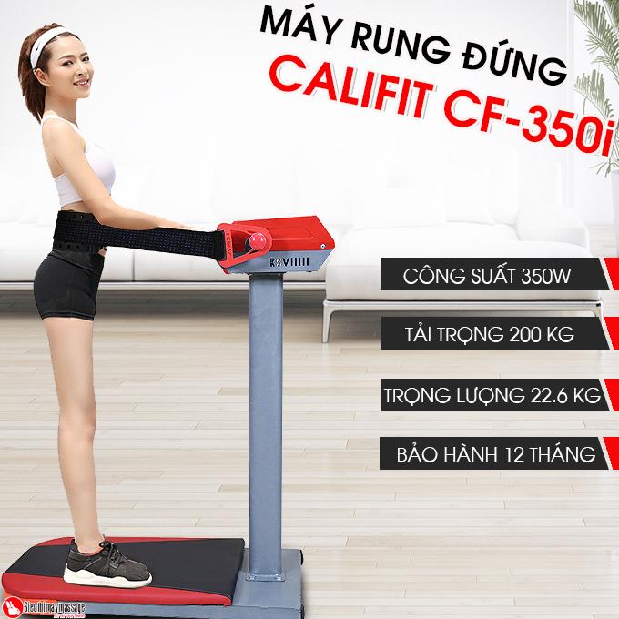 may rung dung bung califit cf 350 i 6 - Máy rung bụng đứng Califit CF-350i