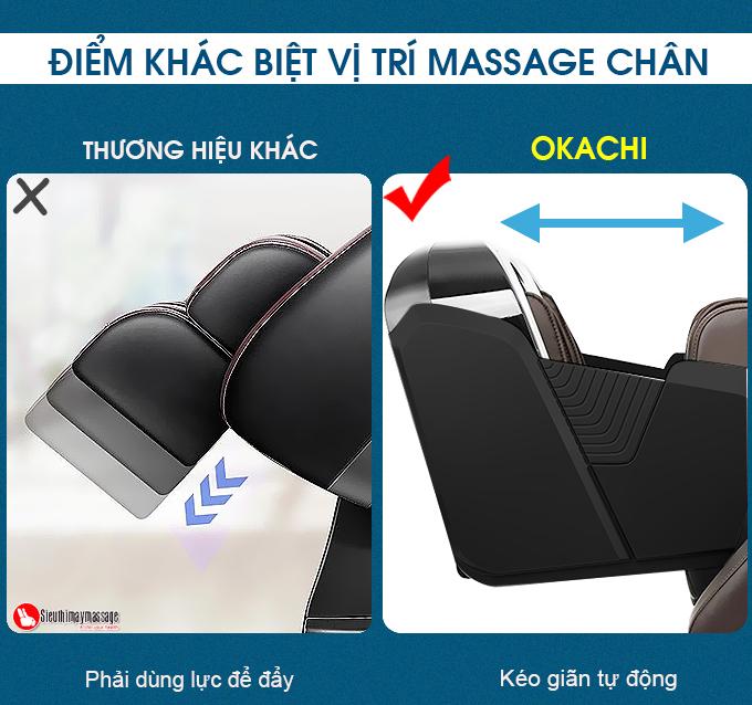 ghe massage okachi jp i 89 14 - Ghế massage toàn thân OKACHI Luxury 4D JP-I89 (Cao cấp)