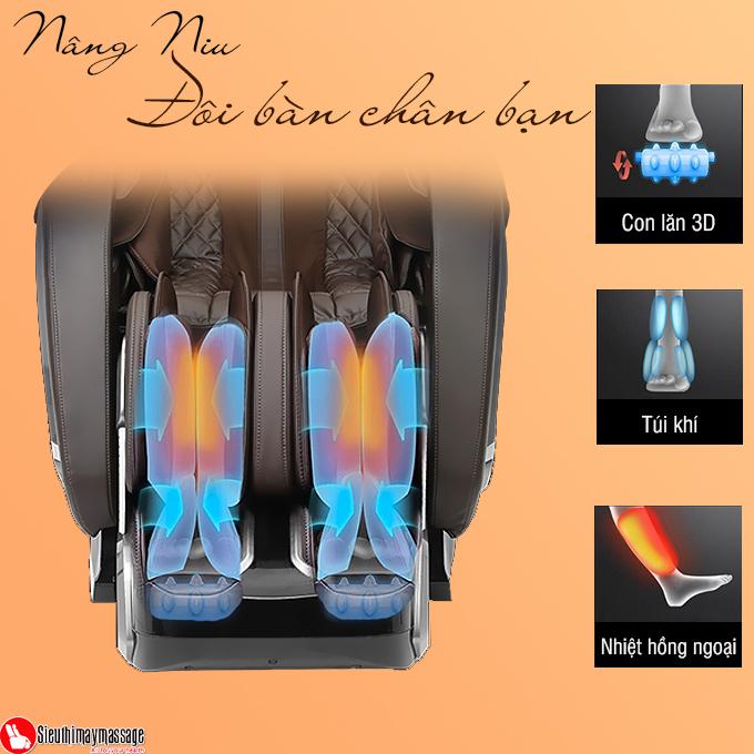 ghe massage okachi jp i 89 8 - Ghế massage toàn thân OKACHI Luxury 4D JP-I89 (Cao cấp)
