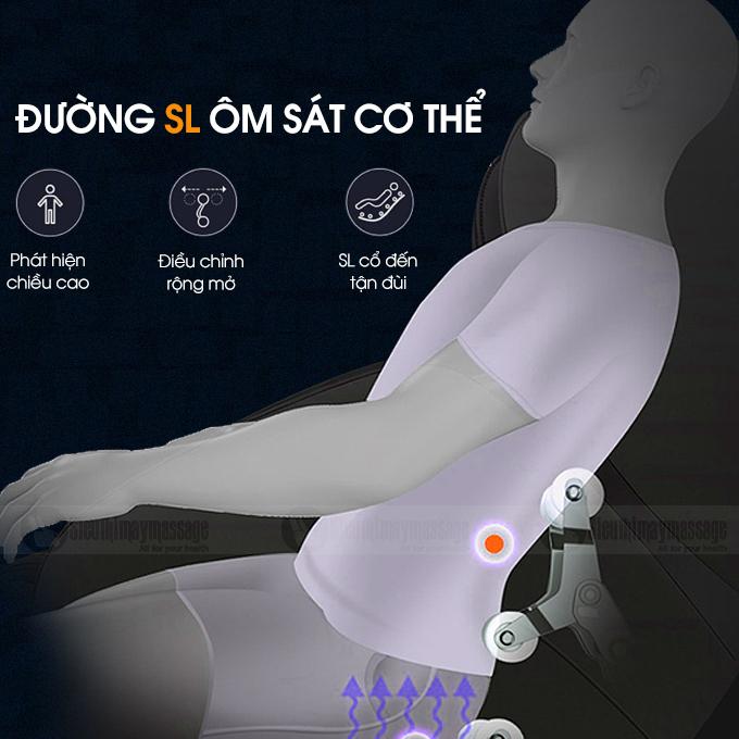 ghe massage okachi star jp i 60 7 - Ghế massage toàn thân OKACHI Star JP-I60