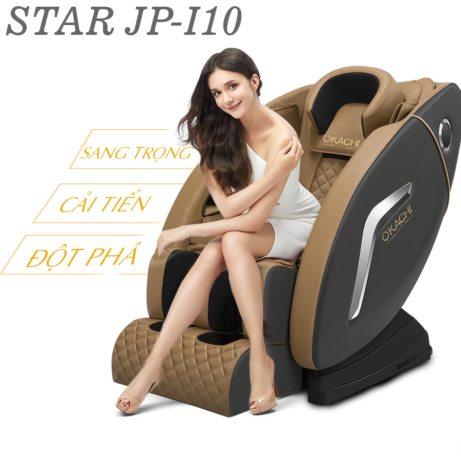 ghe massage toan than okachi jp i 10 41 - Ghế massage toàn thân OKACHI LUXURY Star JP-I10
