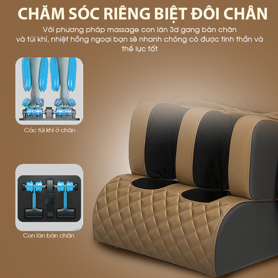 ghe massage toan than okachi jp i 10 51 - Ghế massage toàn thân OKACHI LUXURY Star JP-I10