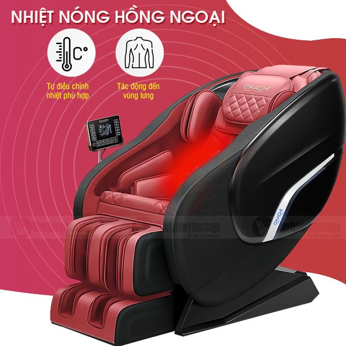 ghe massage toan than okachi jp i 86 10 - Ghế massage toàn thân OKACHI Luxury JP-I86