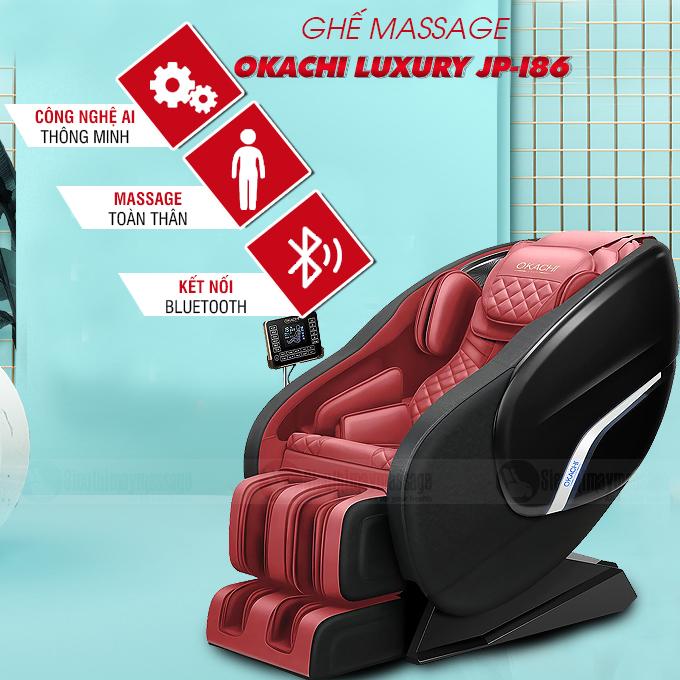 ghe massage toan than okachi jp i 86 12 - Ghế massage toàn thân OKACHI Luxury JP-I86