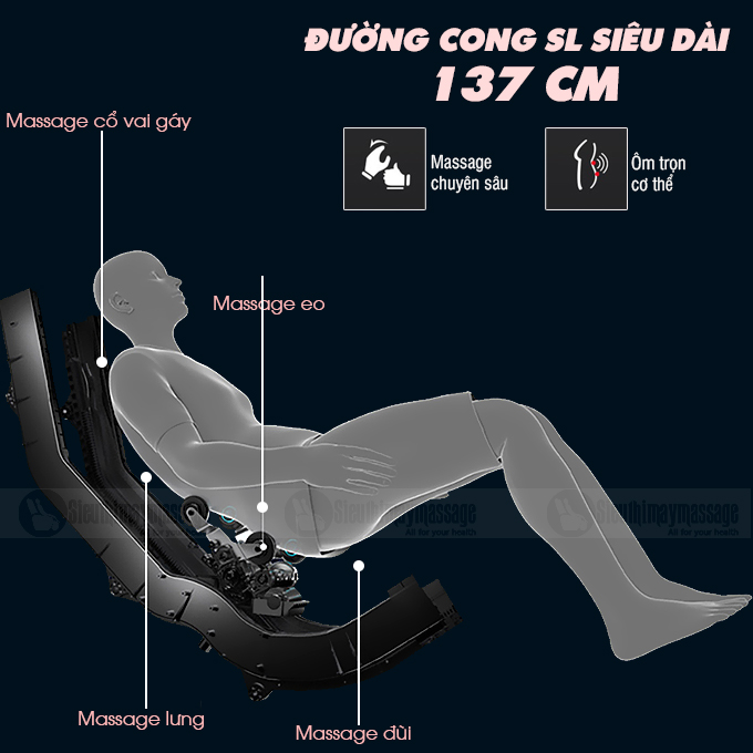 ghe massage toan than okachi jp i 86 7 - Ghế massage toàn thân OKACHI Luxury JP-I86
