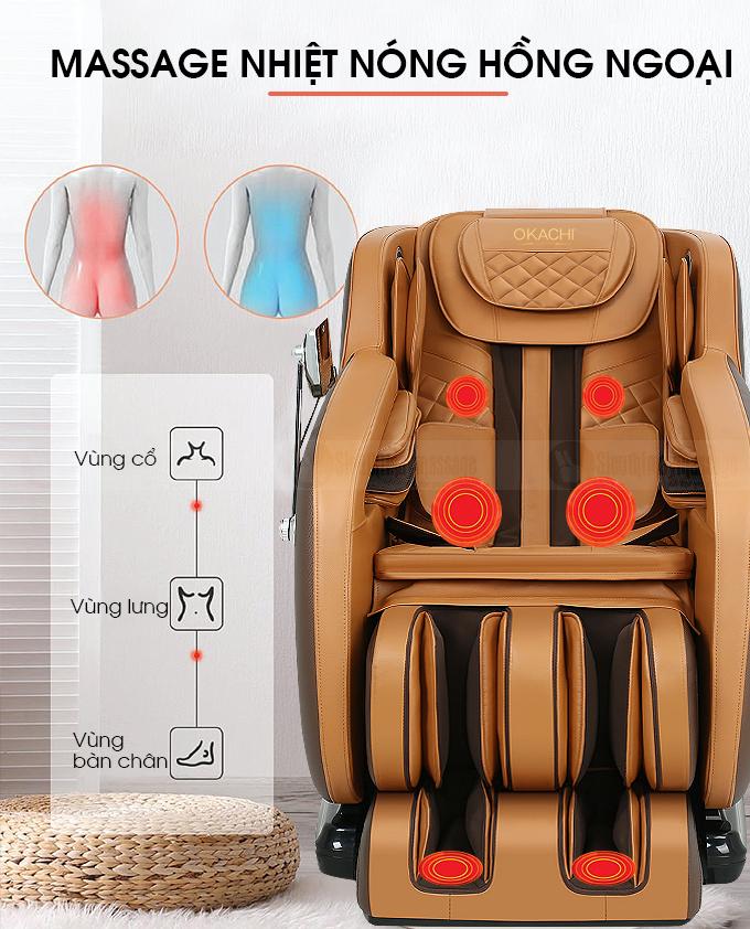ghe massage toan than okachi luxury jp i 79 8 - Ghế massage toàn thân OKACHI Luxury JP-I79
