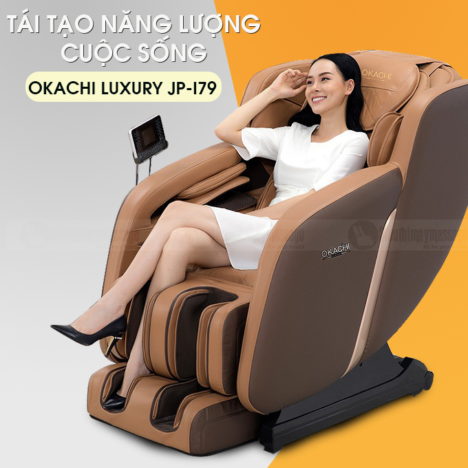 ghe massage toan than okachi luxury jp i 79 9 - Ghế massage toàn thân OKACHI Luxury JP-I79