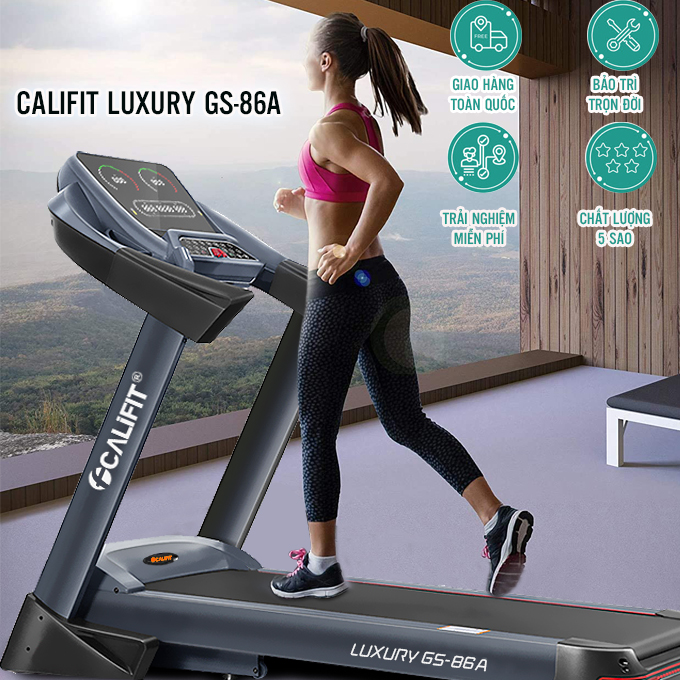 may chay bo califit luxury gs 86 a 10. - Máy chạy bộ CALIFIT LUXURY GS-86A