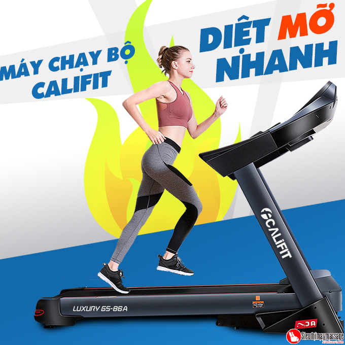 may chay bo califit luxury gs 86 a 15 - Máy chạy bộ CALIFIT LUXURY GS-86A