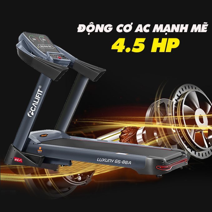 may chay bo califit luxury gs 86 a 18 1 - Máy chạy bộ CALIFIT LUXURY GS-86A