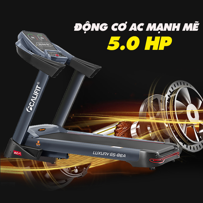 may chay bo califit luxury gs 86 a 18 - Máy chạy bộ CALIFIT LUXURY GS-86A